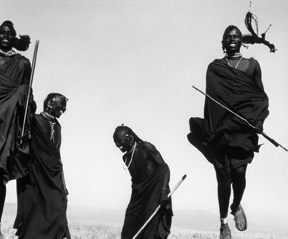Africa Inside. Photographed by Herb Ritts