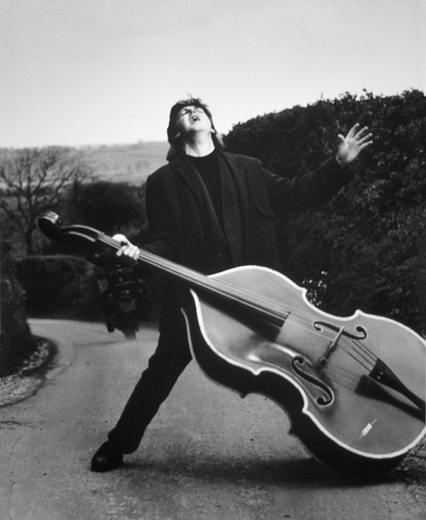 Paul McCartney. Photographed by Herb Ritts
