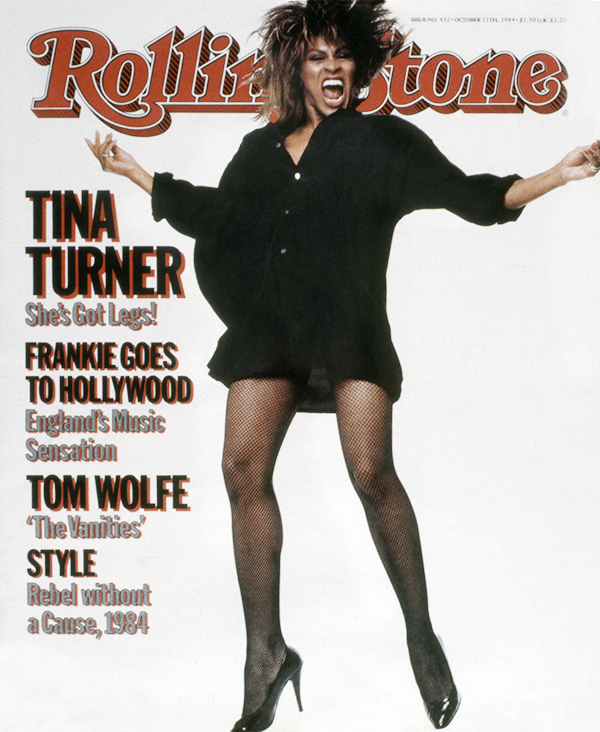 Tina Turner. Photographed by Steven Meisel