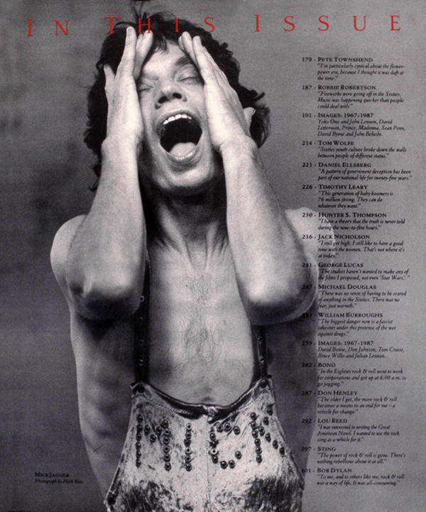 Mick Jagger. Photographed by Herb Ritts