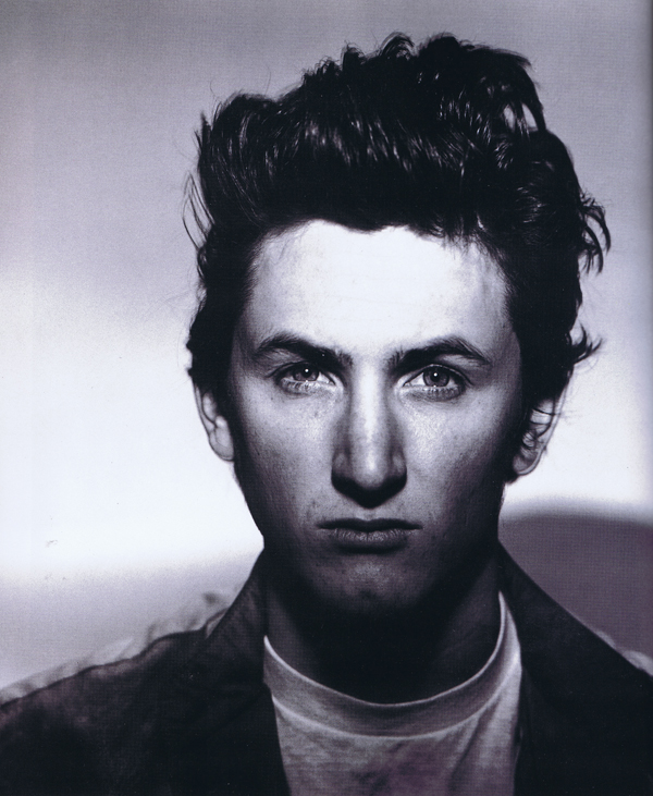 Rolling Stone, Sean Penn. Photographed by Hiro