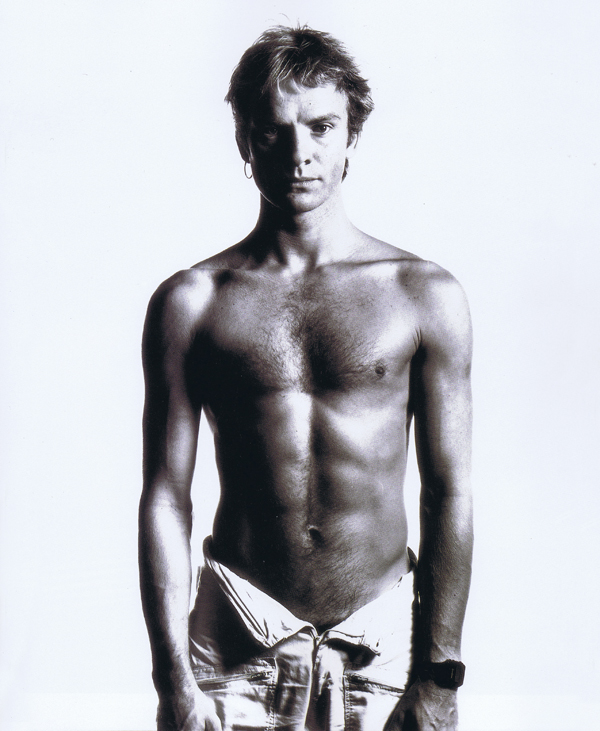 Rolling Stone, Sting. Photographed by David Bailey